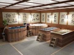 Японская баня офуро – особенности, конкурентные преимущества