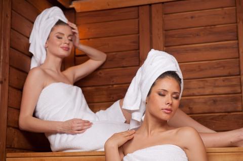 женские баня видео