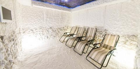 40 минут пребывания в соляной комнате заменяют три дня нахождения на море.