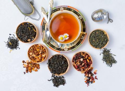 Чай поможет восстановить водный баланс и закрепить эффект от баньки.