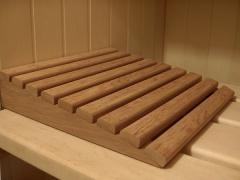 Подголовник для бани — обязательный аксессуар для комфорта в бане.
