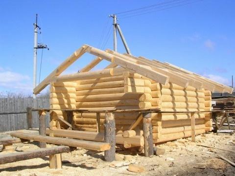 строительство срубовых бань