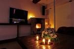 романтическая обстановка в гостиной